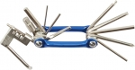 Набор велосипедный для мелкого ремонта CrV, 11 функций, FIT, 64215