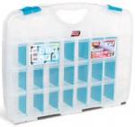 Органайзер прозрачный с регулируемыми ячейками №23, TAYG, 023590