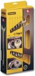 Набор комбинированных гаечных ключей MaxiDrive Plus 8 шт, STANLEY, 4-87-054